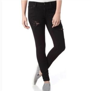 Eunina Maxwell Low Rise Skinny Regular Black